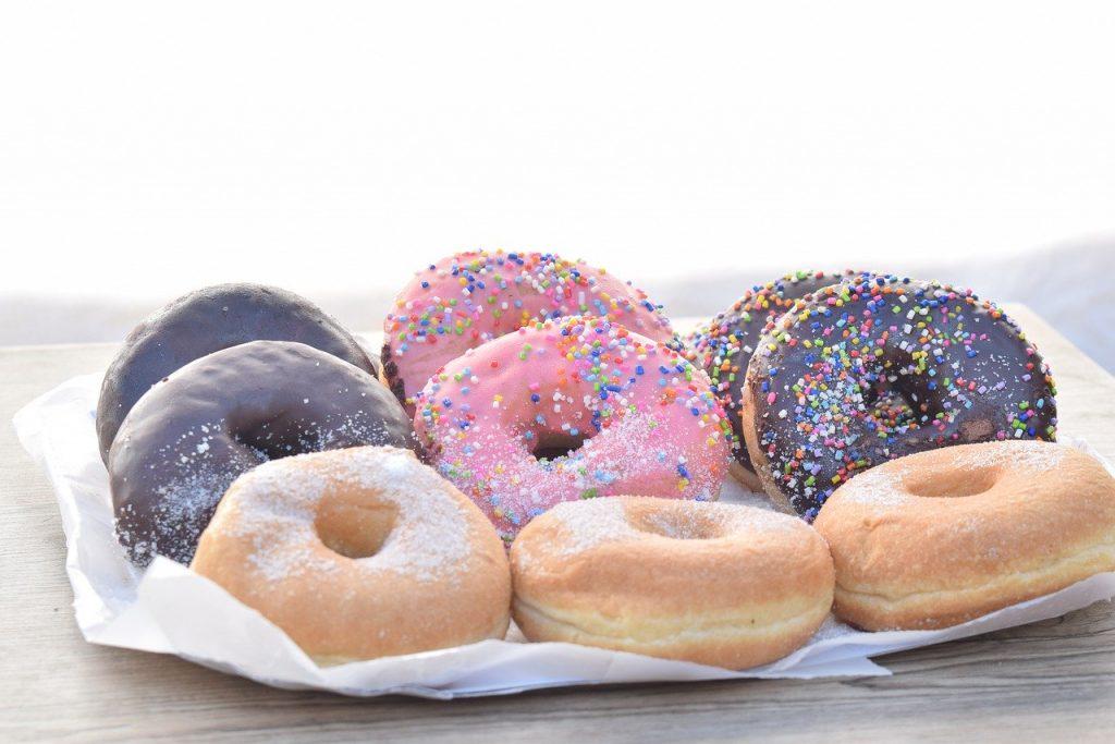 donuts, food, dessert
