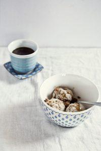 ice cream, coffee, dessert