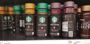 Starbucks Chilled Drinks as found in USA Supermarket
