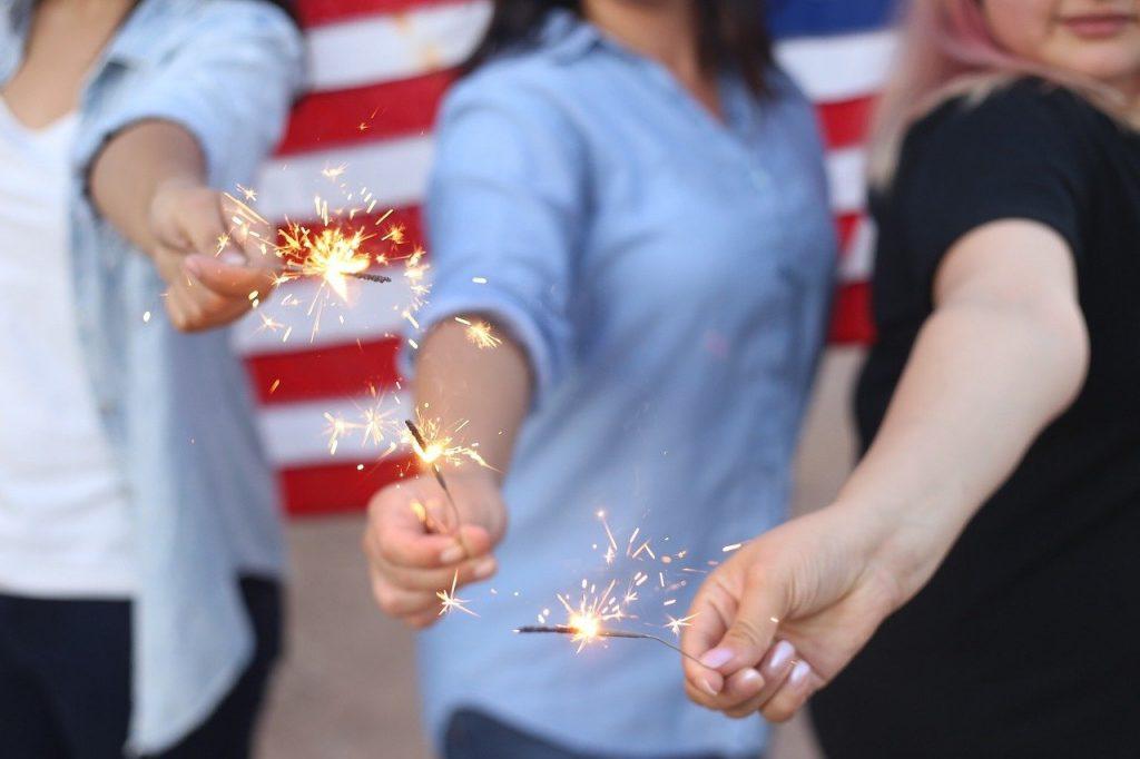 Celebrating 4th July Australia