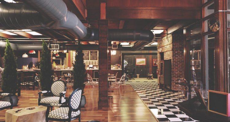 restaurant, furniture, interiors